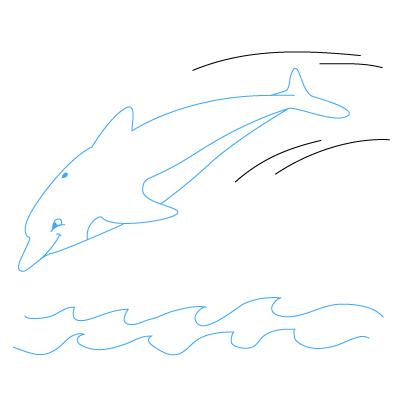Jak Narysować Delfina Krok Po Kroku Rysowanie Delfina