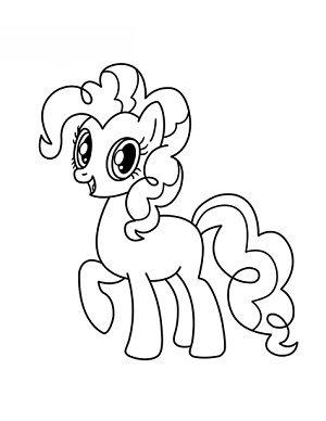 Jak Narysować Pinkie Pie Z My Little Pony Krok Po Kroku