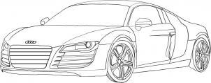 Jak Narysowac Samochod Audi Krok Po Kroku