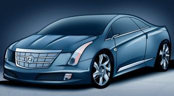 Cadillac El Camino >> Jak narysować auto Cadillac ELR krok po kroku