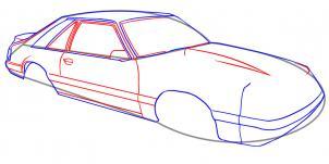 Jak Narysowac Auto Krok Po Kroku Rysowanie Auta