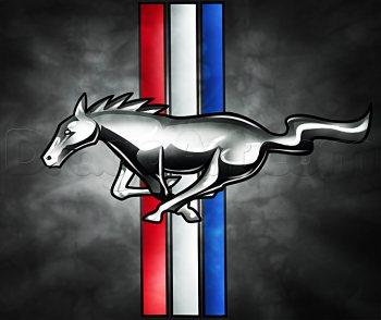 Jak Narysować Logo Mustang Krok Po Kroku Rysowanie Logo