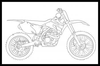 Motocykl Cross besides Sporty Motorcycle Coloring Pages in addition Codigos Do Gta 4 Xbox 360 Armas also Letscoloringpages further Suzuki Jr50 Engine Diagram Wiring. on lamborghini dirt bike