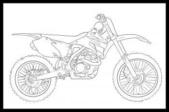 Jak Narysować Motocykl Cross Krok Po Kroku Rysowanie Motocykla Cross