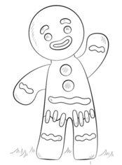 Jak Narysować Ciastko Ludzik Krok Po Kroku Rysowanie