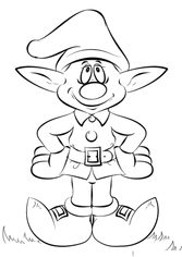 nisse coloring pages - photo#25