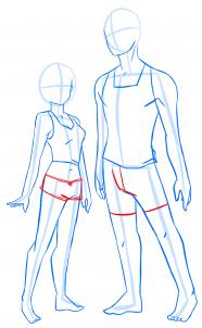 Jak Narysować Mężczyznę I Kobietę Krok Po Kroku